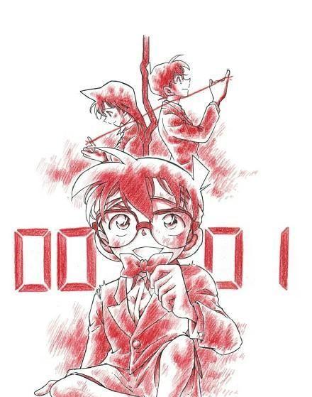 《名侦探柯南》剧场版系列:青山刚昌手绘海报,你都认识吗?