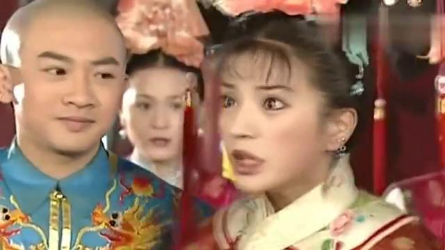 还珠格格:小燕子不愿结婚后看老佛爷的脸色,赌气说不嫁给五阿哥