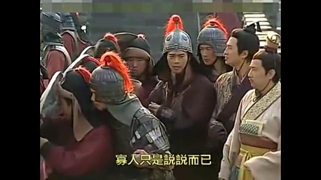 项羽和刘邦阵前理论对错,竟然突然放冷箭,汉王身受重伤
