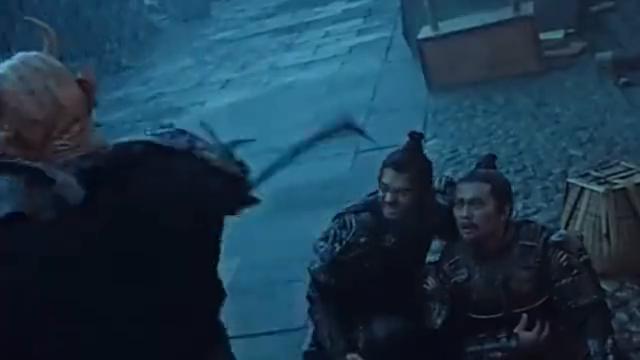 李靖命悬一线,哪吒临危救父,三头六臂诛杀石矶