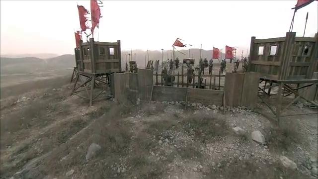 廉颇在大粮山赵军营地,通告各军,固守壁垒