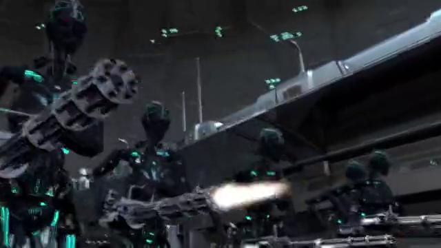 花茶月正在被机器人们围攻,慌不择路的她会跑到哪里呢