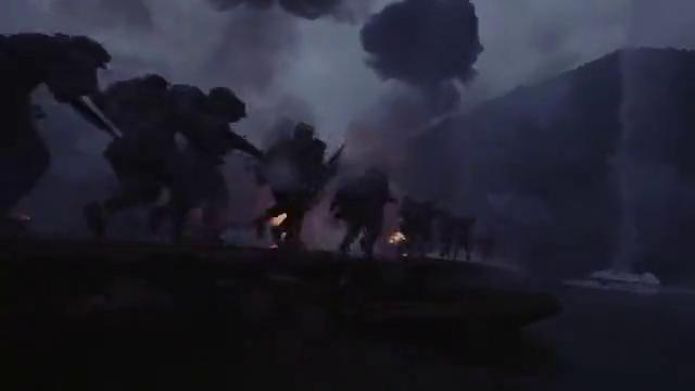 敌军碉堡疯狂倾斜火力,老战士悲愤交加,抱起炸药包同归于尽!