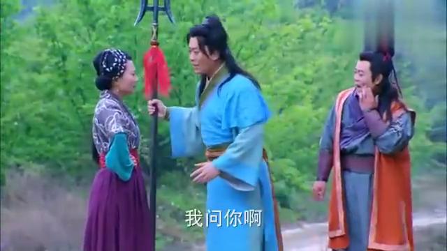 隋唐英雄:薛仁贵教育完土匪,下山看到美女,惊得连兵器都不要了