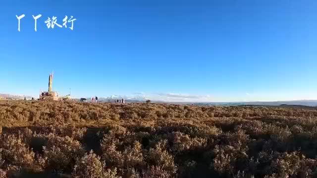 川西秘境:新都桥鱼子西,能看到雅拉雪山、四姑娘山、贡嘎群山