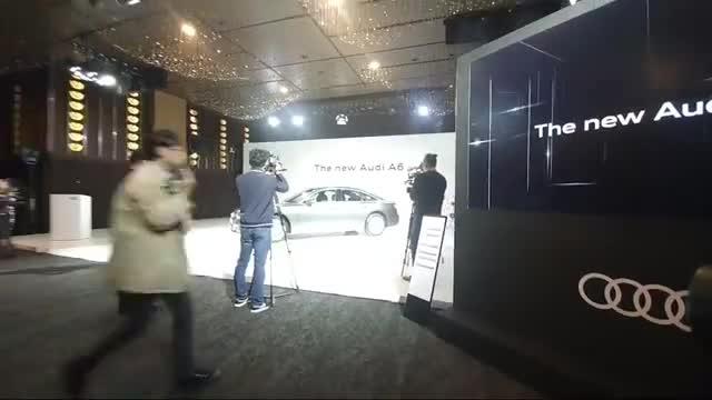 视频:2020款奥迪A6抢先实拍,打开车门坐进车内那刻,才是心动的开始