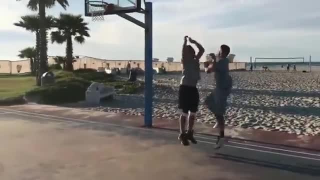 美国的街球王,随心所欲的打篮球