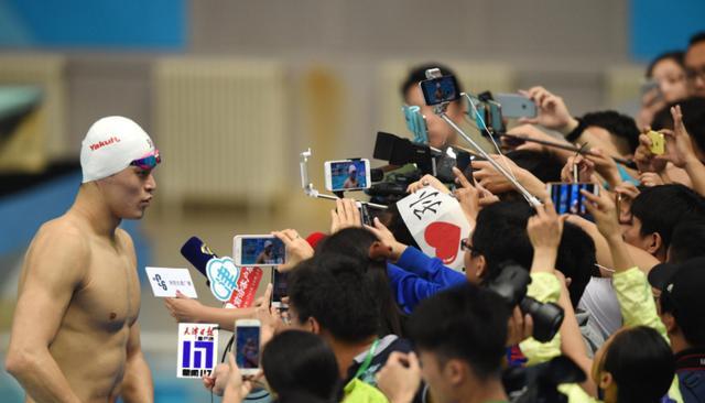 奥运夺金8周年!官方粉丝团致敬孙杨:伟大,世界纪录在追赶你!
