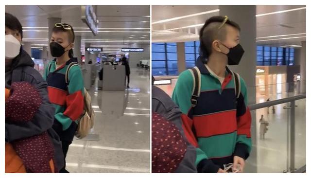 窦靖童机场造型让人看不懂,网友却责怪起了王菲