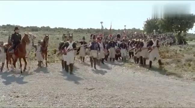经典历史战争片,英军步枪队坚守要塞,大败拿破仑法军