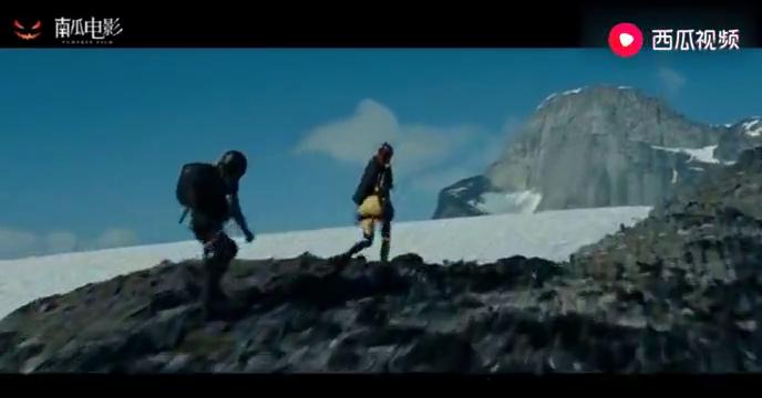 特种部队:不愧是全球票房37亿的大片,雪山山顶这段特效,没谁了