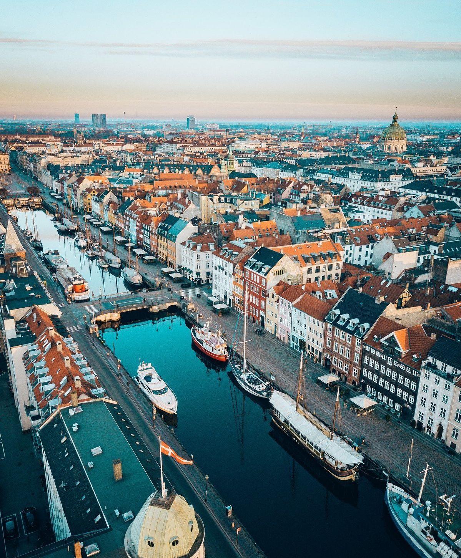 光景美图分享59:哥本哈根(丹麦)美人鱼故乡,欧洲童话名城
