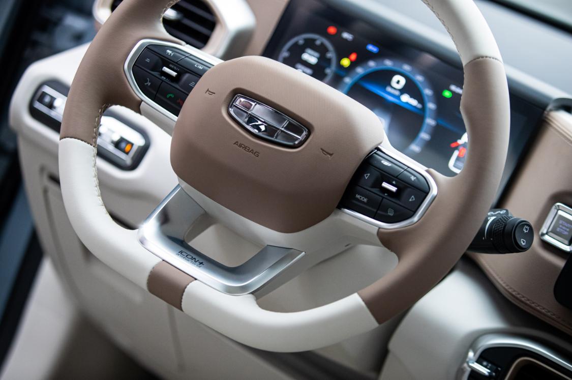 吉利ICON将搭载行业首个全面抗菌方向盘 全方位健康汽车实至名归