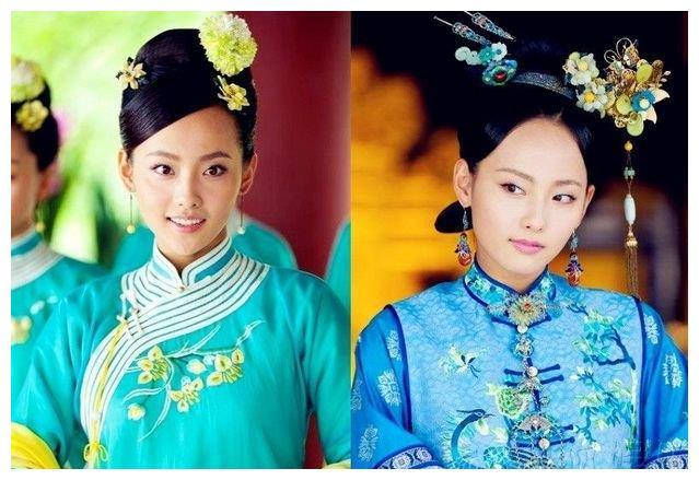 4位丹凤眼古装美女,刘亦菲眼尾上挑显妩媚,张嘉倪真美