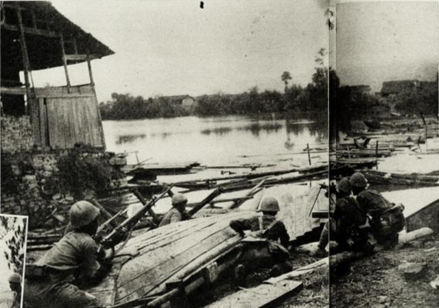 武汉会战中一场阻击战,日寇使用化学武器这支铁血部队全团牺牲
