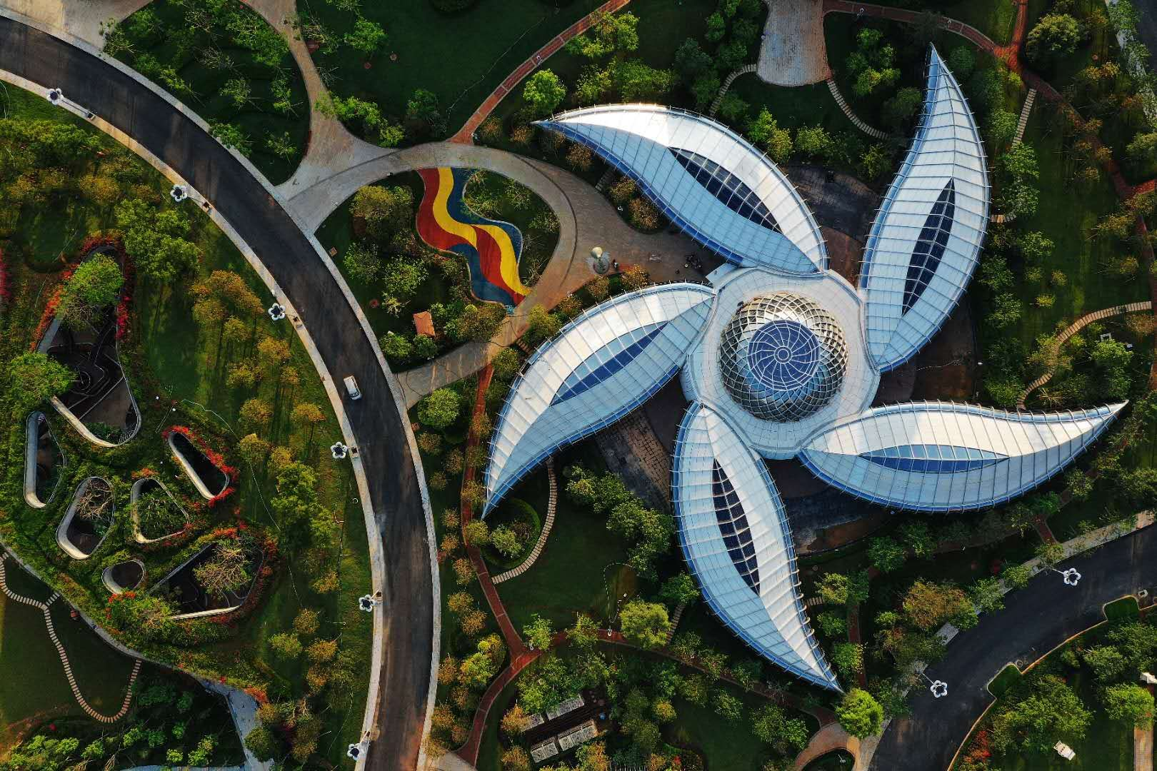 海花岛炫酷实景片展露绝美颜值 恒大匠心打造世界文旅民族品牌
