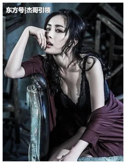 """4位女星的""""突破性""""杂志大片,杨幂和赵丽颖还好,她美得像仙女"""