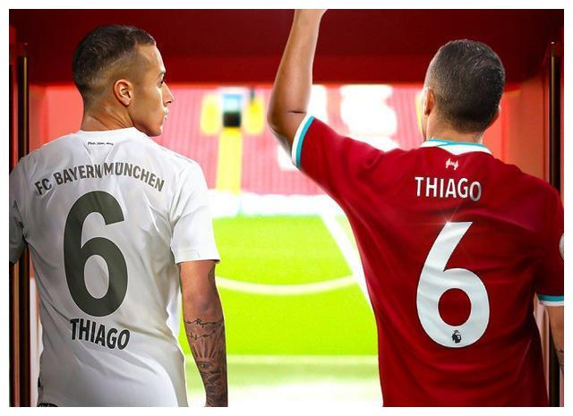 拜仁的中场大将蒂亚戈和利物浦总算有了新的发展