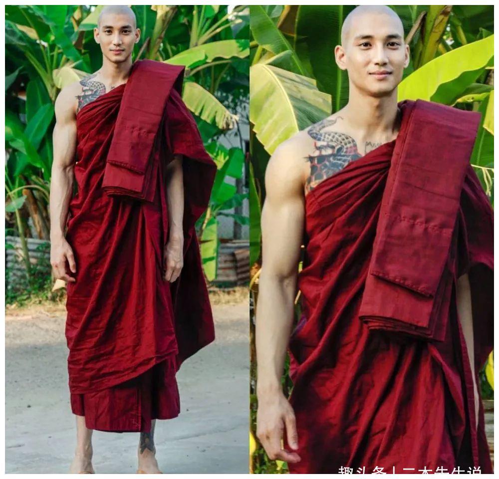缅甸188cm最帅男模出家当和尚,曾走红东南亚,帅倒一片迷妹