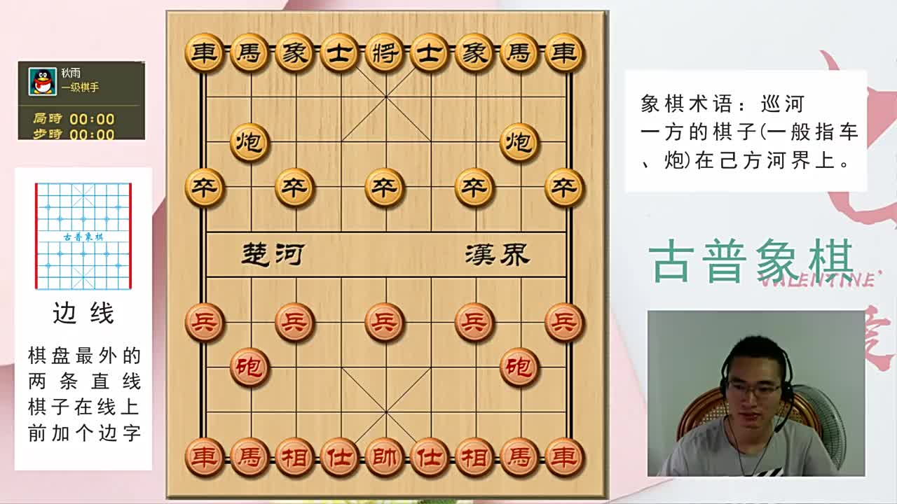 中国象棋实战:顺炮十三招,一级棋手落马于铁门栓