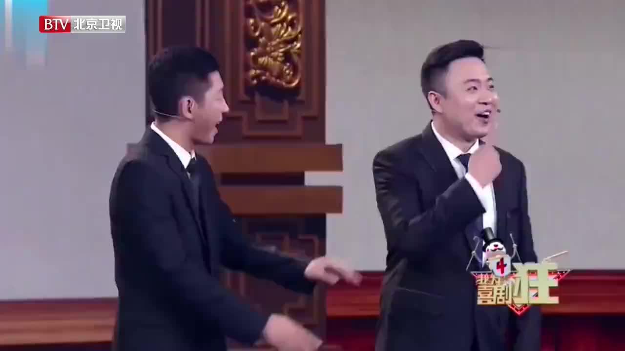 """逗哏刘宇钊精彩口算""""鸡兔同笼"""",整懵搭档汉洪臻"""
