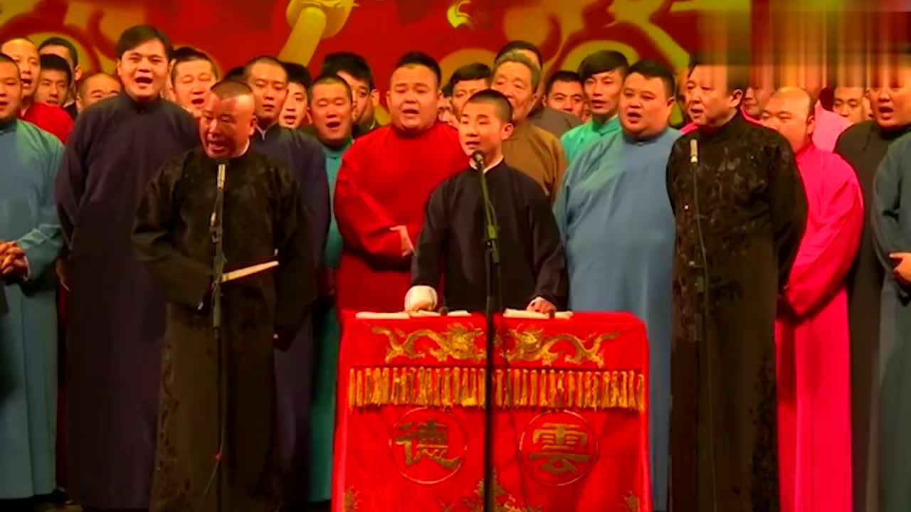德云社唱曲集锦,京剧神童和师父同台飙曲,郭德纲:衣钵有传承了