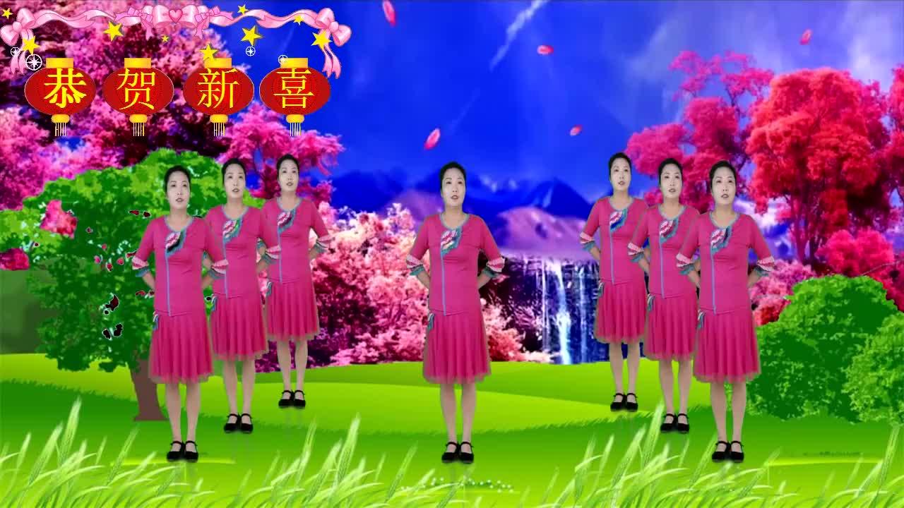 超嗨潮流动人网红广场舞《望爱却步》燃脂舞蹈好看好学!