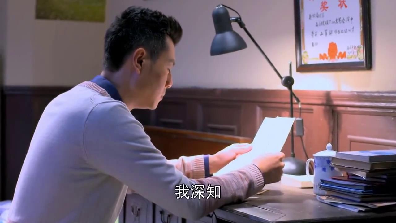 将电脑带进中国的千家万户,我深知屏幕上的邮件,远不及笔尖上的