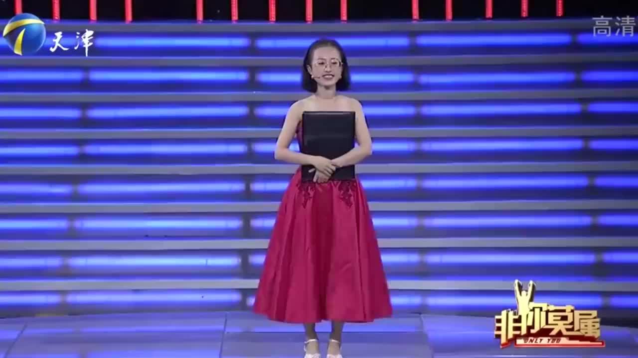 22岁可爱女孩,身材娇小却多才多艺,现场表演才艺惊艳众人