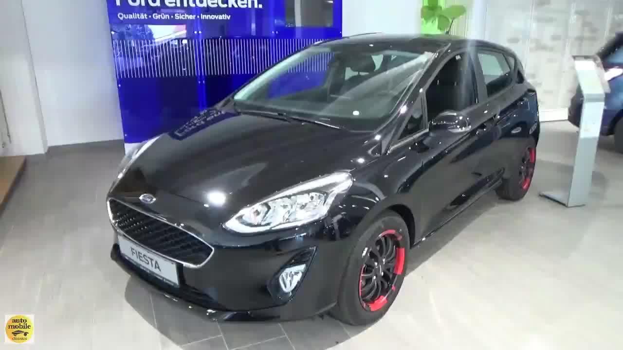 视频:新车到店,实拍2020款福特Fiesta,颜值太帅!