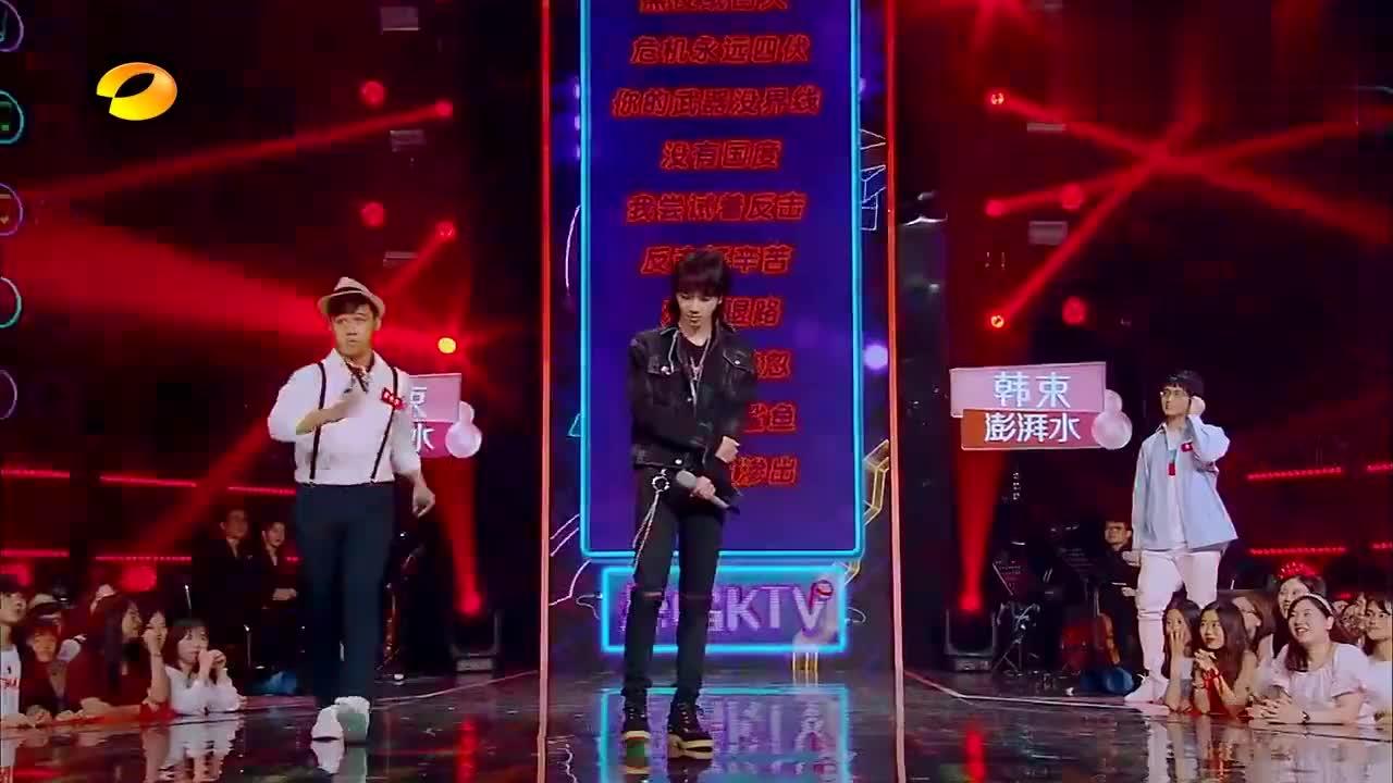 华晨宇歌迷现场高歌一曲,爵士嗓音点燃全场,花花的ET真优秀!