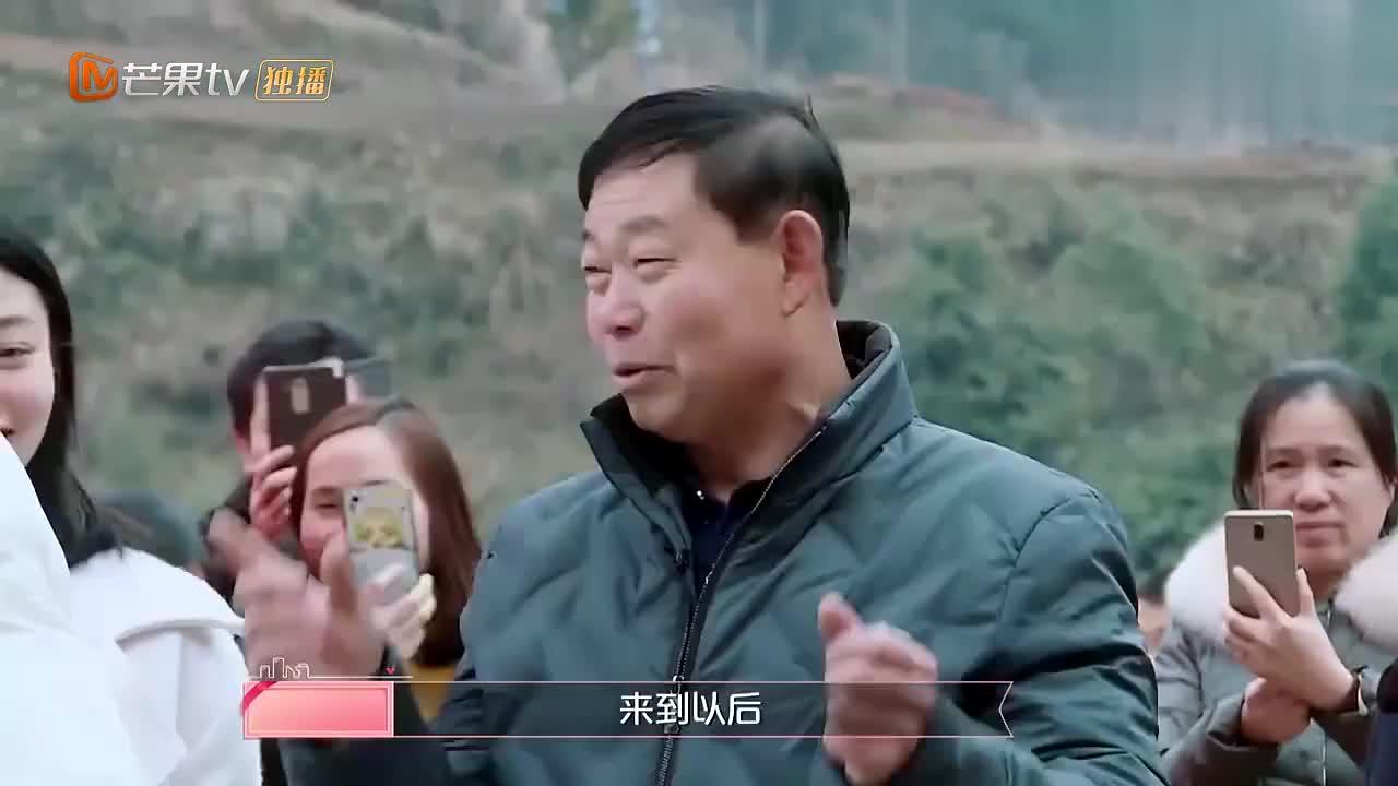 杜海涛跟沈梦辰回湘西老家,刚到村口就被灌了三碗白酒,太猛了