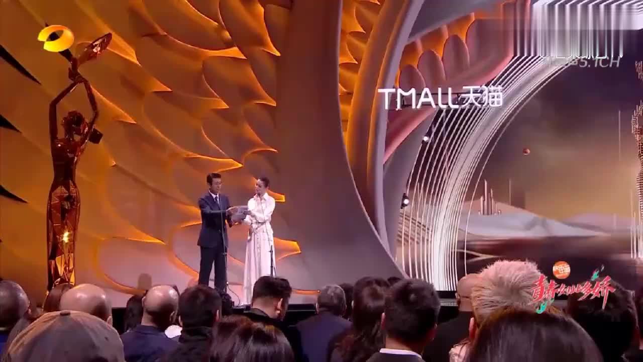 第13届金鹰电视节颁奖晚会:任达华获最佳男演员奖,感言风趣幽默