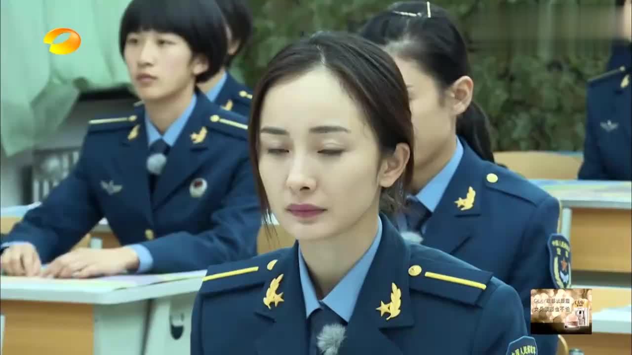 男子汉:张蓝心上课拿小抄,被教官点名上讲台答题,蓝心当场自闭