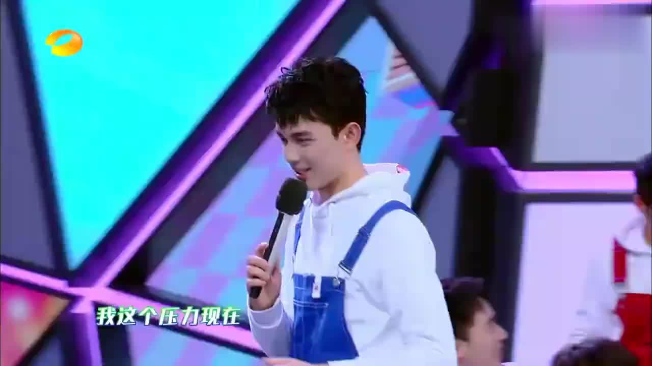 吴磊弓步轻松出圈成功,谢娜惊呆:这也太快了吧!