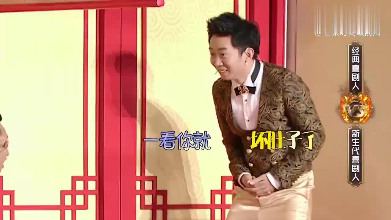 宋小宝精彩演绎三胞胎,实力把队友带偏,潘长江笑得合不拢嘴!