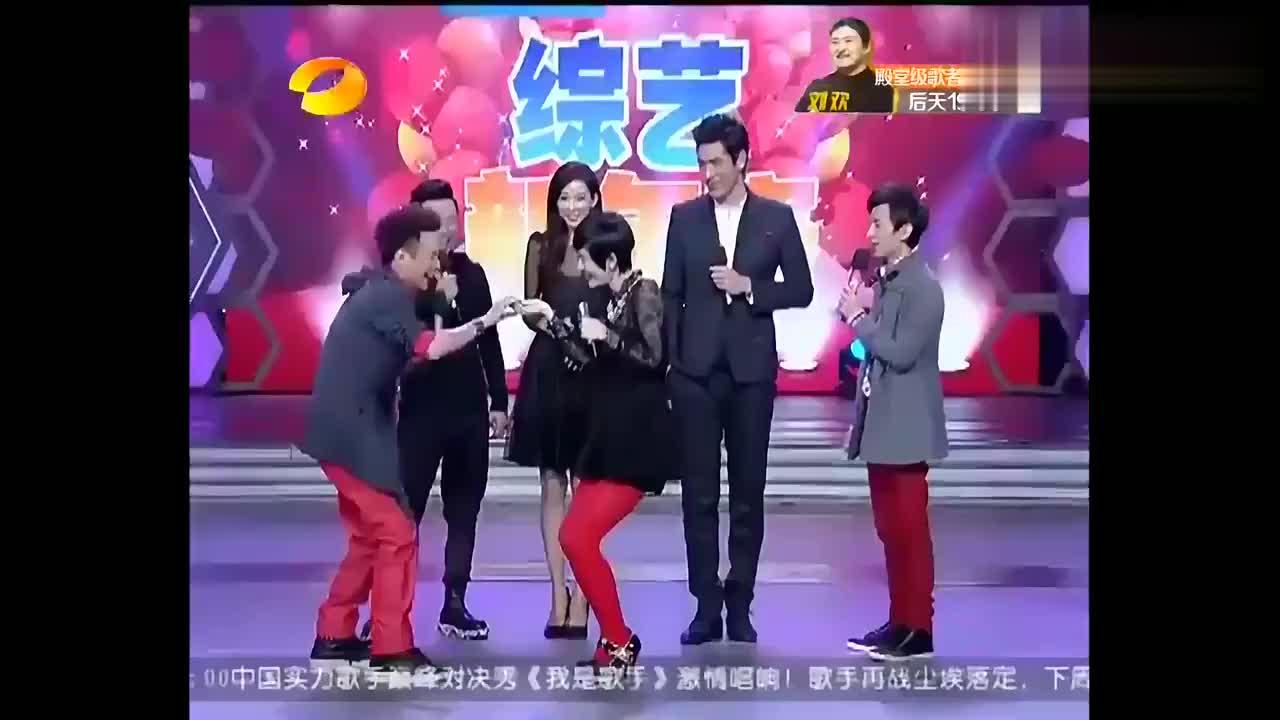 快乐大本营:与林志玲高以翔搭档,黄渤直言制片人太残酷