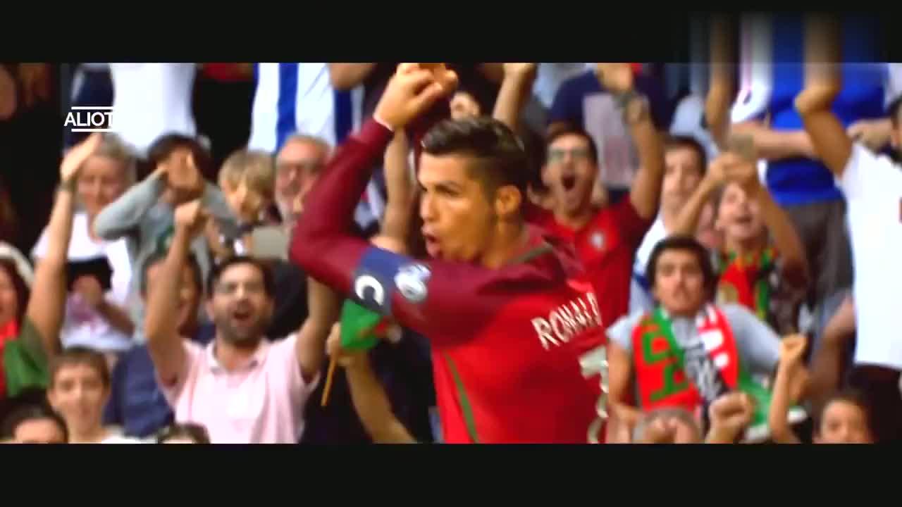C罗这十次射门成就他葡萄牙国家队传奇人物!独木难支的罗总