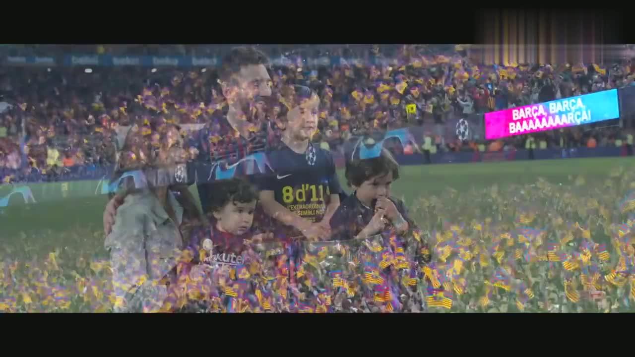 """巴萨诺坎普球场!梅西""""我的家""""!"""