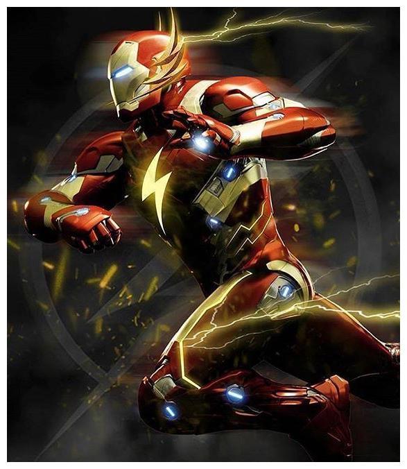 钢铁侠的4套创意战甲,霸天战甲超帅,还有一套毒液合体战甲!