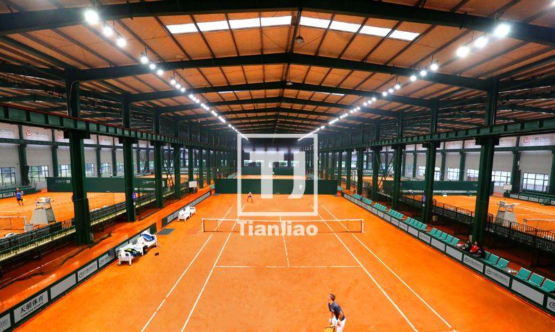 法网罗兰·加洛斯红土网球场(天骄体育出品)