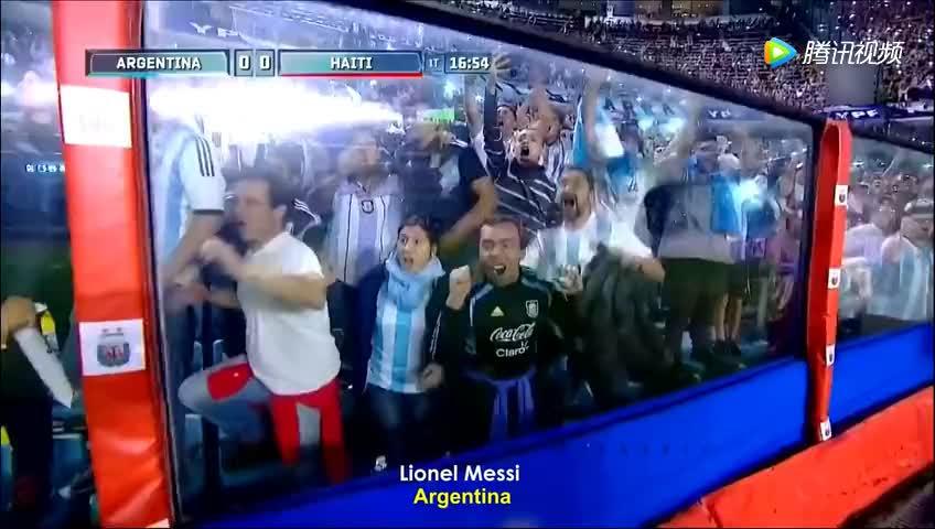 梅西2018年三大帽子戏法,梅球王在阿根廷国家队是真卖力