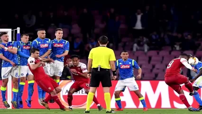 阿森纳击败那不勒斯进欧联4强 半决赛对手埃梅里并不陌生