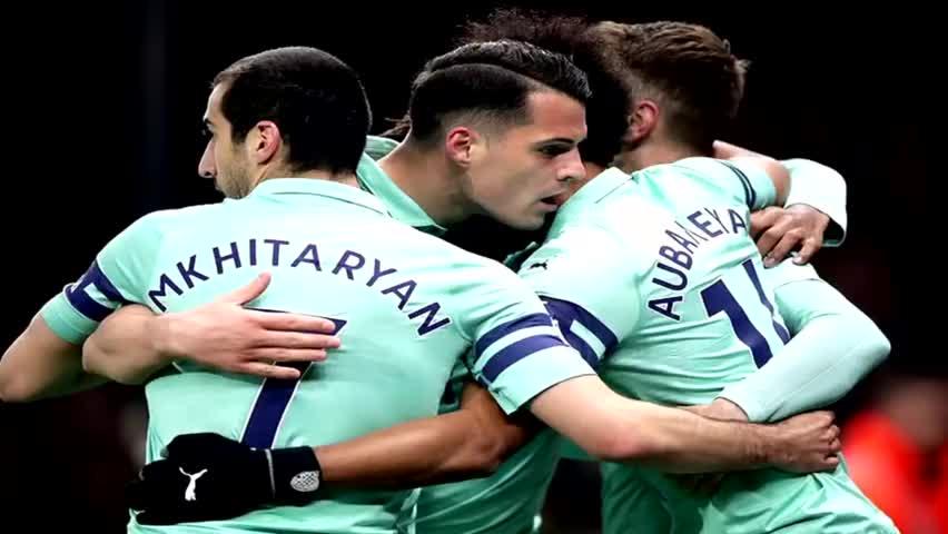 破门制胜!奥巴梅扬首个英超客场进球 阿森纳重返前四