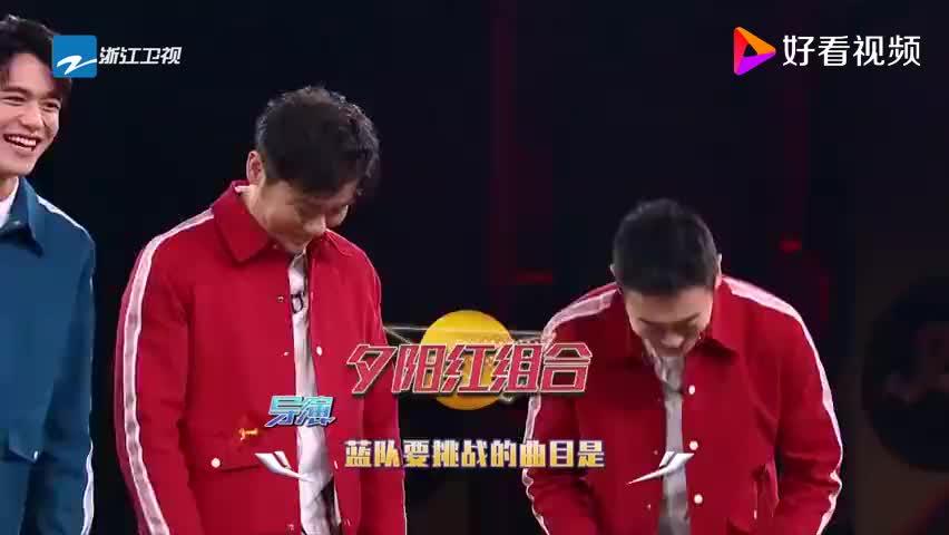 郑恺和队友站在一起,身高差距一目了然,自嘲像WIFI信号!