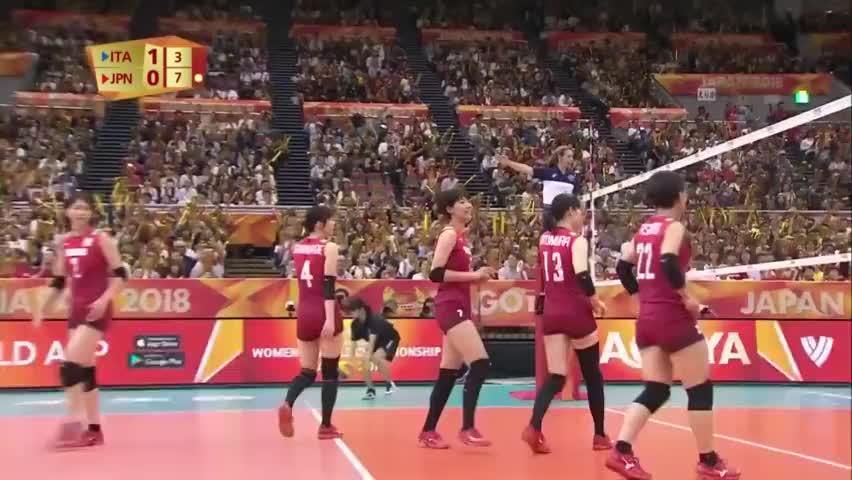 意大利女排又集体梦游了,日本女排趁机吹起了反击号角