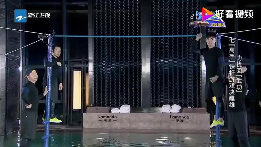 铁杆决斗王祖蓝气势汹汹,反被陈赫搞进水中,祖蓝满脸不甘心!