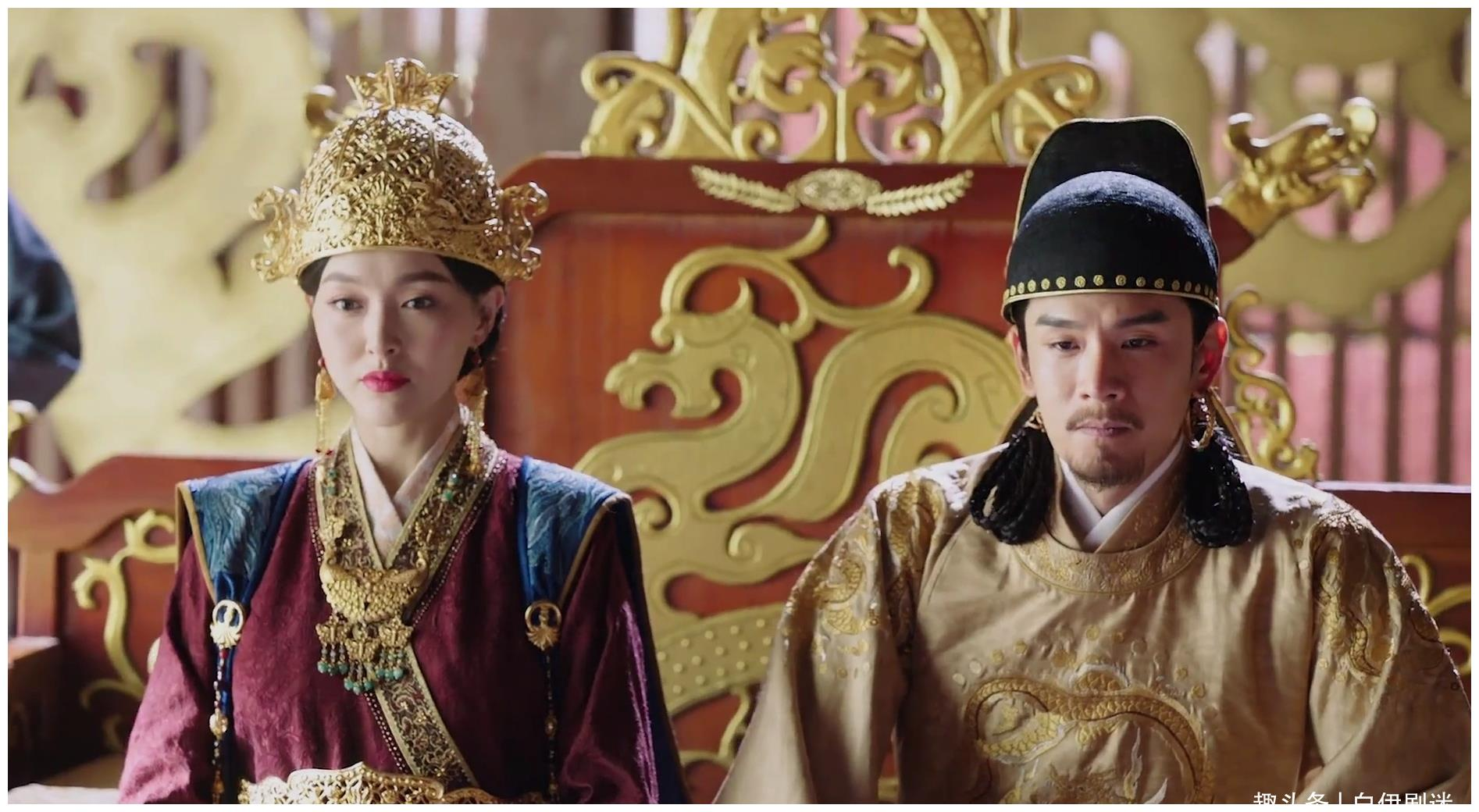 燕云台:玉萧问明扆,皇后于他而言是什么,明扆的回答令人寒心