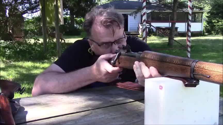 """春田M1903A3栓动步枪,绰号""""花旗中正式""""细听它清脆的拉栓声音"""