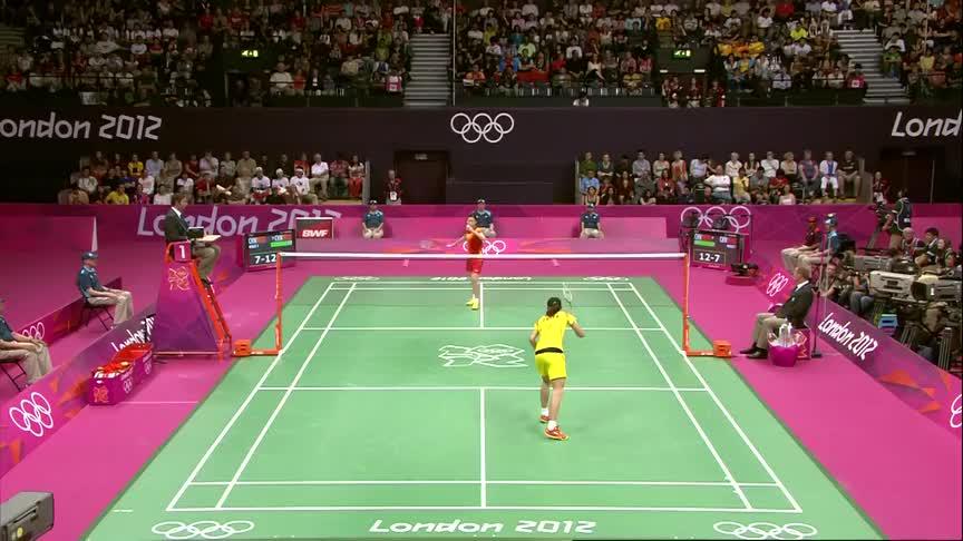 中国女羽一姐之争,伦敦奥运会决赛,处在巅峰时期李雪芮势不可挡